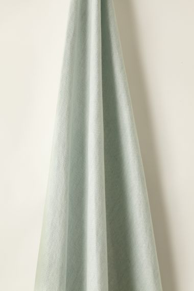 Lightweight sky blue Linen fabric by designer Rose Uniacke