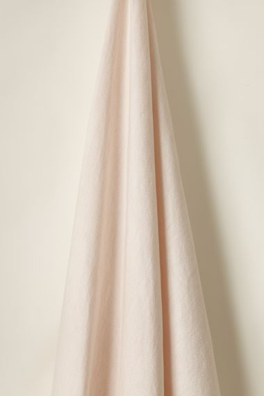 Light Weight Linen fabric in Blush by Rose Uniacke