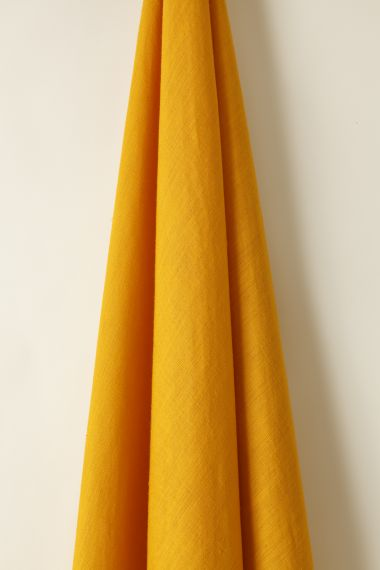 Light Weight Linen in Marigold_1