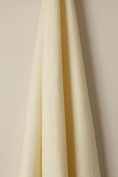 Light Weight Linen fabric in Vellum by designer  Rose Uniacke