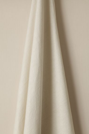 Mid Weight Luxury Linen Fabric in Parian by Rose Uniacke