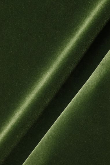 Cotton Velvet in Spruce by Rose Uniacke_0