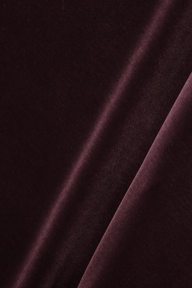 Cotton Velvet in Tyrian by Rose Uniacke_0