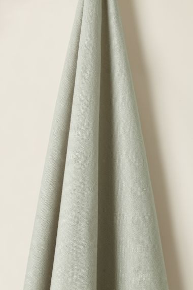 Heavy Weight Linen Fabric in Putty by Rose Uniacke