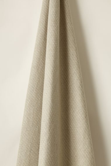 Textured Linen Fabric in Woven Natural by Rose Uniacke