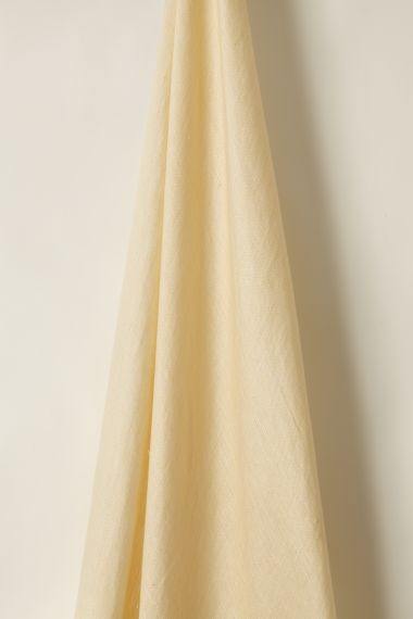 Designer Sheer Linen in Honey by Rose Uniacke