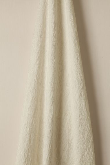 Designer Sheer linen fabric in froth by Rose Uniacke