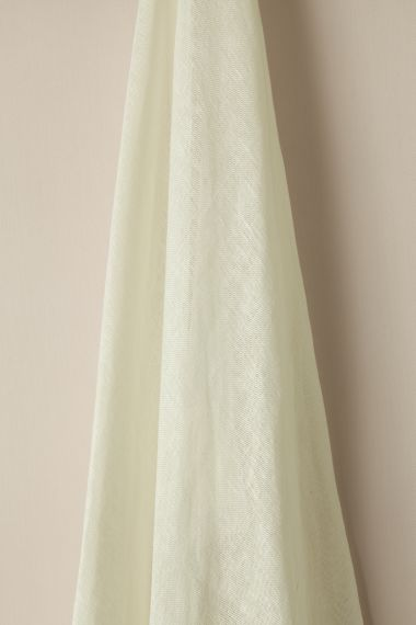 Sheer Linen fabric in Snow by Rose Uniacke