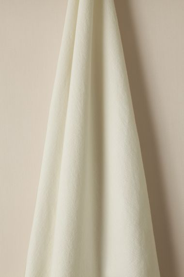 Smithfield fabric in White by designer Rose Uniacke