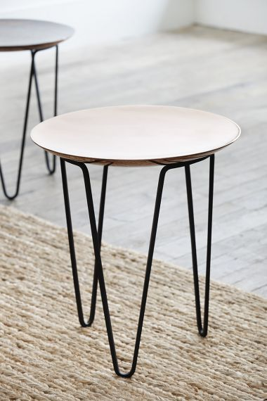 Designer Copper Side Table by Rose Uniacke