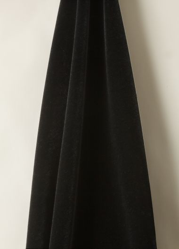 Mohair Velvet fabric in Blackberry by designer Rose Uniacke