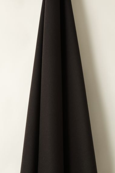Wool fabric in Obsidian by designer Rose Uniacke