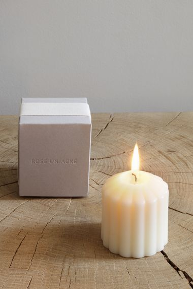 Fluted Candle - Fireside by Rose Uniacke_1