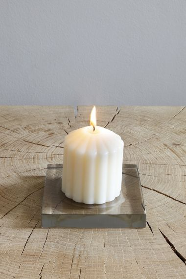 Fluted Candle - Fireside by Rose Uniacke_3