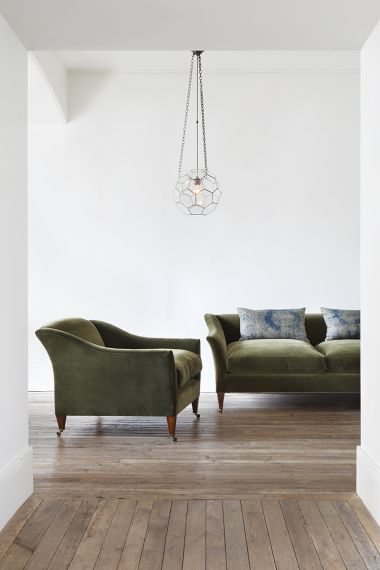 Modern Drawing Room Armchair by Rose Uniacke