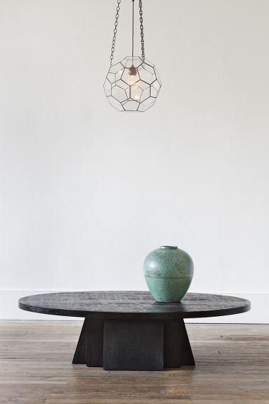 Low Oval Coffee Table by Rose Uniacke