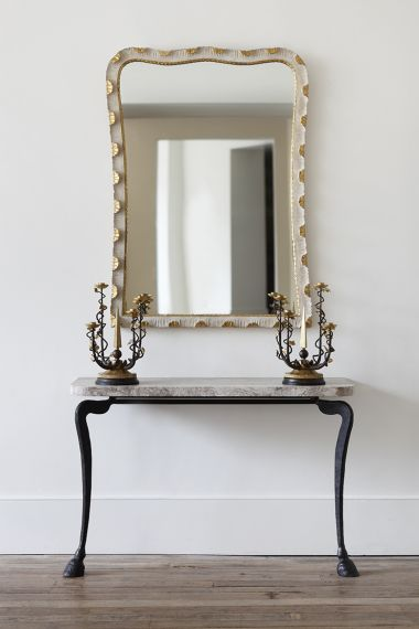 Hoof Metal Console Table by designer Rose Uniacke