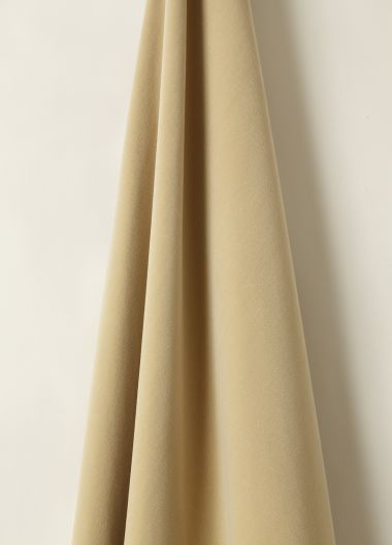 Cotton Velvet fabric in Monkey Nut by designer Rose Uniacke