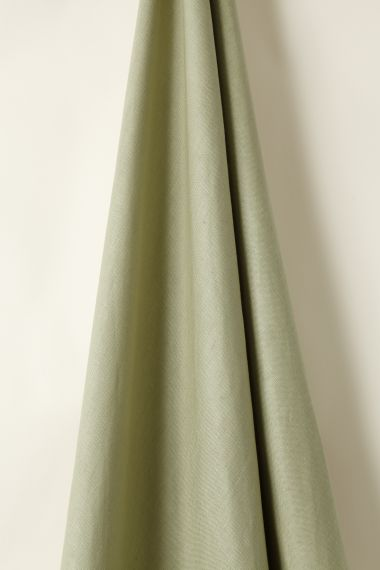 Light Weight Linen designer fabric in Fir Apple by Rose Uniacke