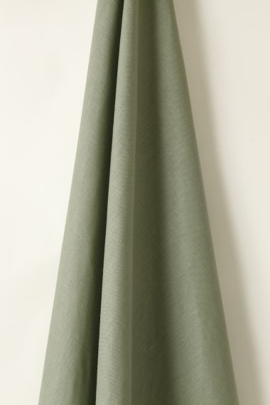 Luxury Light Weight Linen fabric in Duck Egg by Rose Uniacke