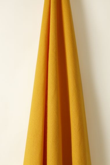 Heavy Weight luxury Linen fabric in Sunshine by Rose Uniacke
