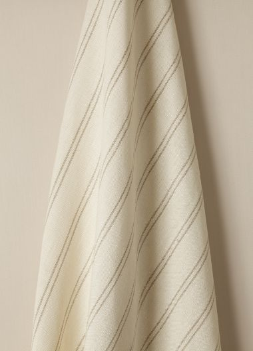 Heavy Weight Linen Fabric in Stripe III by Rose Uniacke