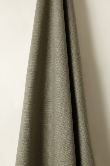 Heavy Weight Linen fabric in Clay by Rose Uniacke