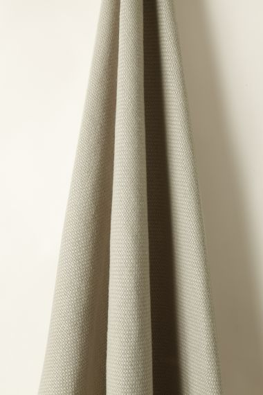 Heavy Weight Linen Fabric in Cement by Rose Uniack