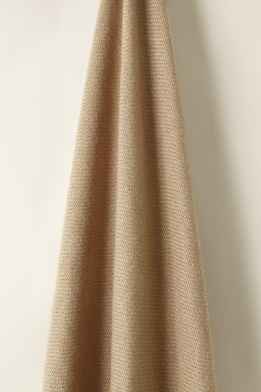 Heavy Weight woven Linen fabric in Coyote by Rose Uniacke
