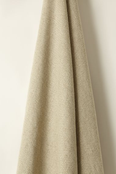 Designer Heavy weight linen fabric in plover by Rose Uniacke