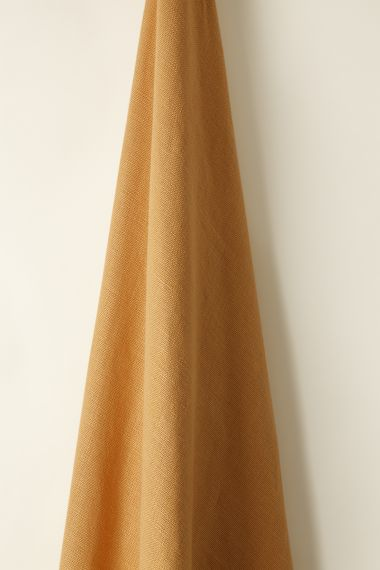 Heavy Weight Linen Fabric in orange