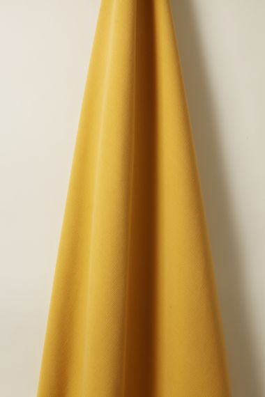 Luxury Corduroy Fabric in Canary  Yellow