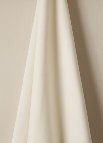 Wool fabric in Salt by designer Rose Uniacke