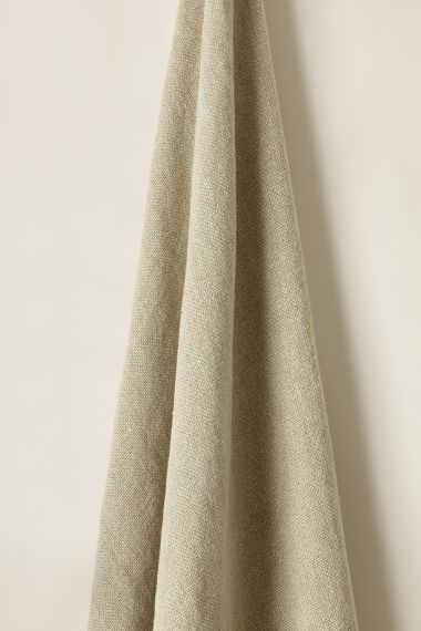 Luxury Heavy Weight Linen Fabric in Smoke by Rose Uniacke