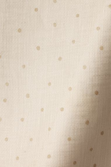 Sheer Linen in Biscuit spot on Chalk by Rose Uniacke_0