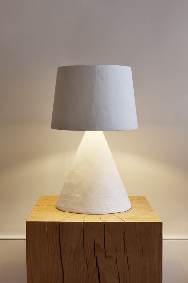 Plaster Table Lamp by Rose Uniacke_0