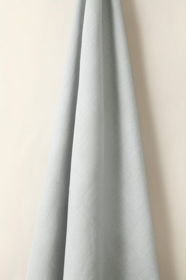 Heavy Weight Linen in Ice Blue_1