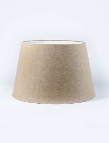 The Natural Linen Drum Shade_0