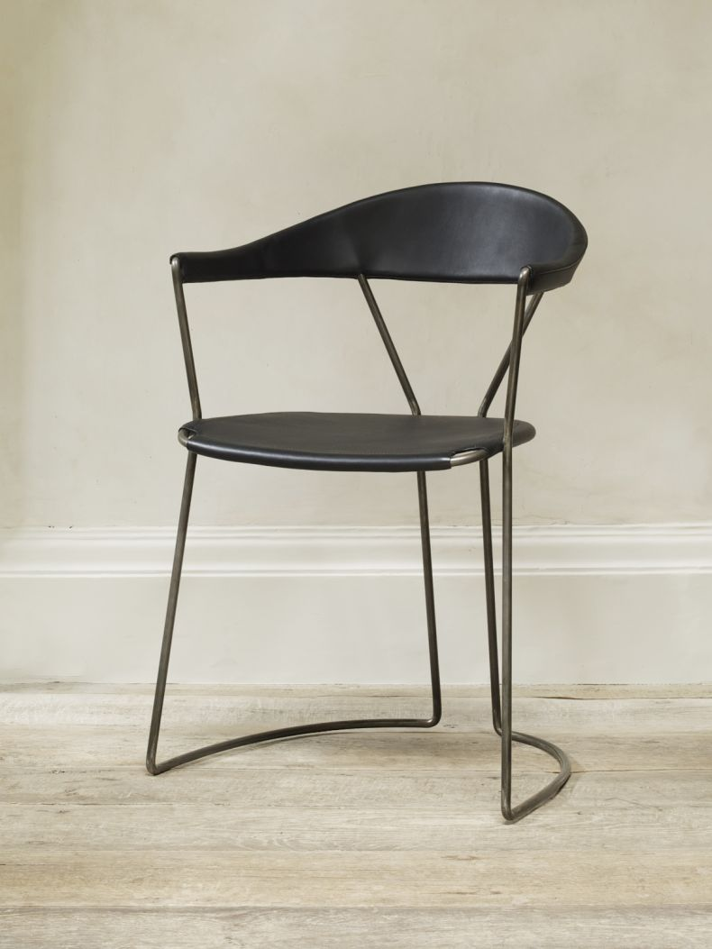 Y Chair in Black by Rose Uniacke_0