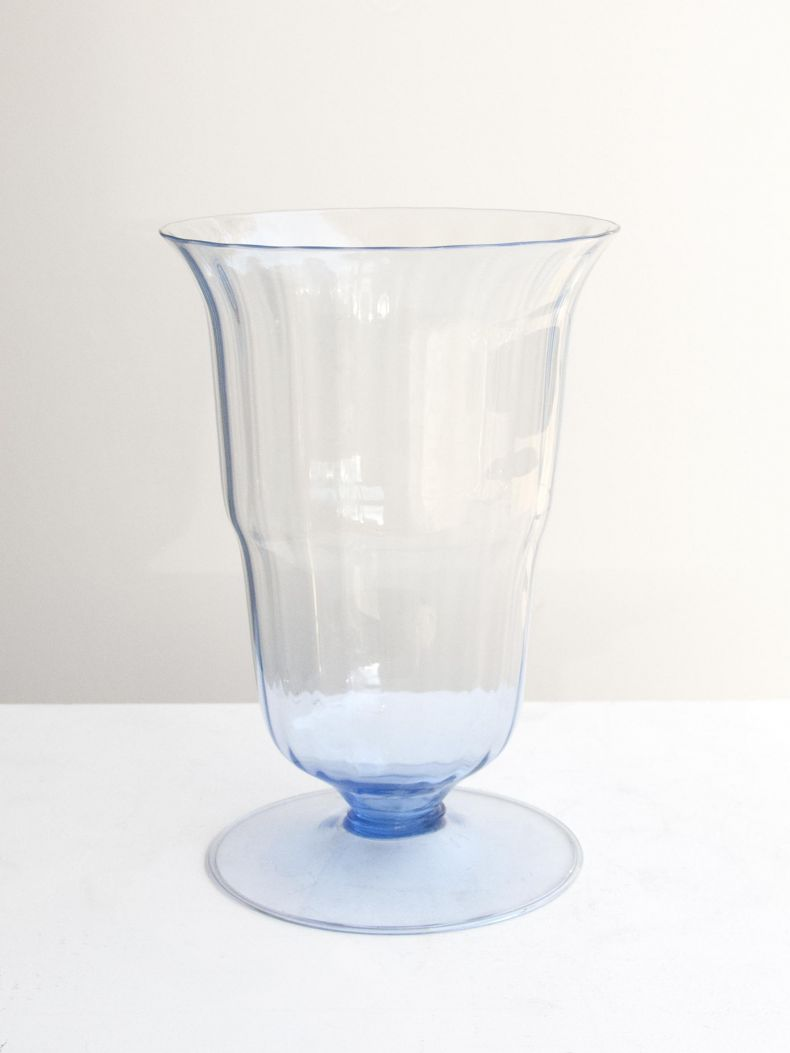 1920's Murano Glass Vase by M.V.M. Cappellin_0