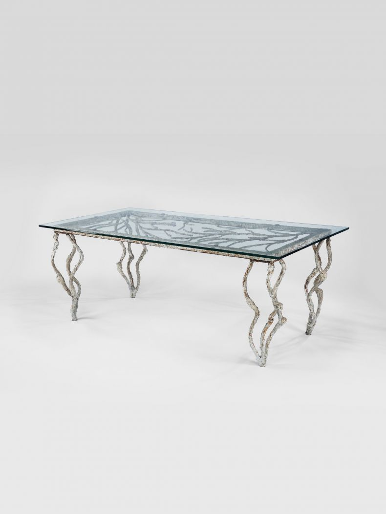 Large Artist-Made Dining Table_0