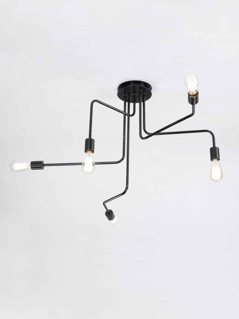 Five Arm Ceiling Mounted Light_0