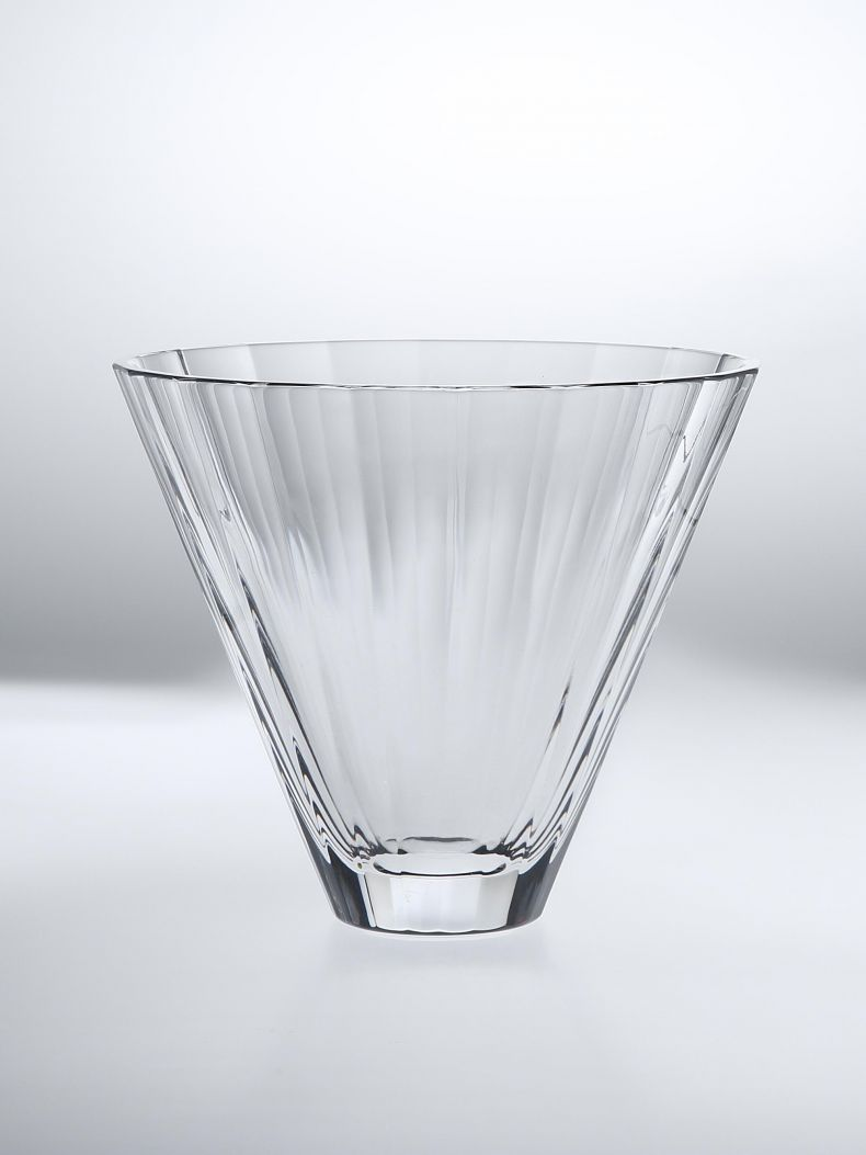 Faceted Glass Vase by Rose Uniacke_0