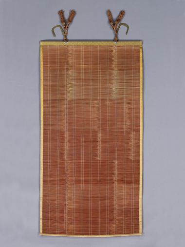 Set of Eight Meiji Period Split Bamboo Screens_0