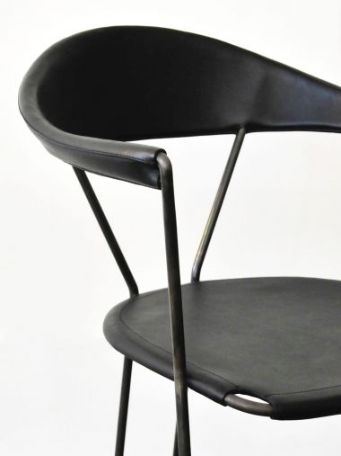 Y Chair in Black by Rose Uniacke_4