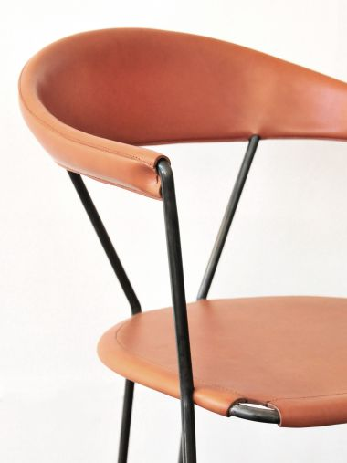 Y Chair in Tan by Rose Uniacke_1