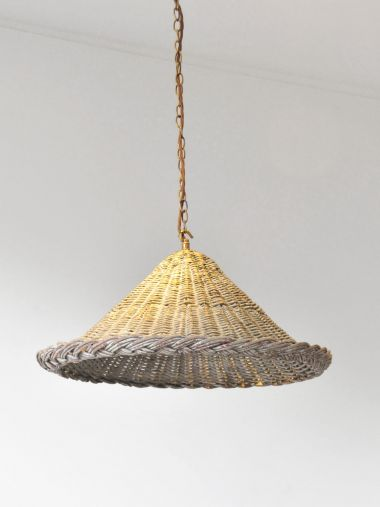 A Wicker Pendant Light_1