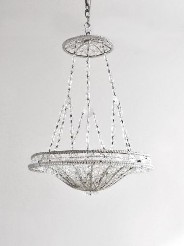 Early Art Deco Italian Chandelier_1