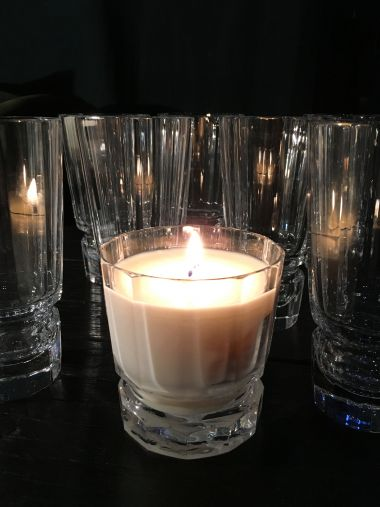 Luxury Crystal Candle by Rose Uniacke