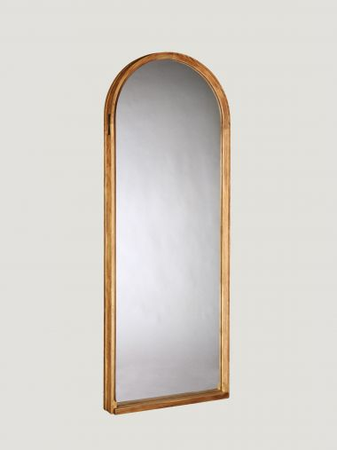 Leaning Oak Mirror by Rose Uniacke_0